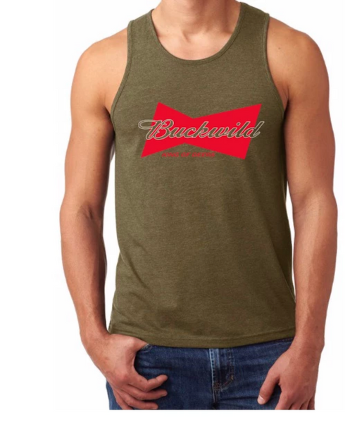 Buckwild King Of Deers Tank Top - Dirty Doe & Buck Wild ,hunting apparel,camo,girls that hunt,huntress, buck wild,deer shirts,buck shirts,country shirt,country girl shirts, amazon,cabelas,bass pro shop,sportmans,
