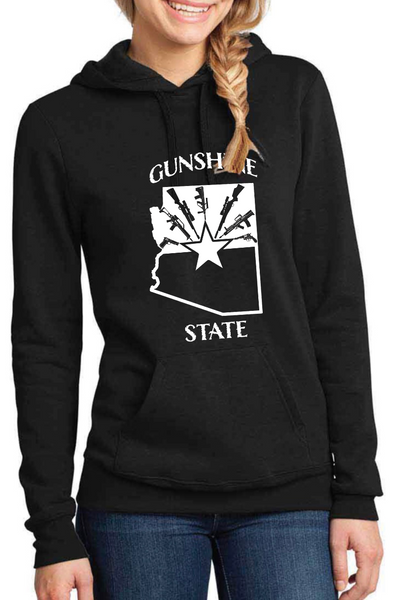 Gunshine State Dirty Doe Hoodie - Dirty Doe & Buck Wild ,hunting apparel,camo,girls that hunt,huntress, buck wild,deer shirts,buck shirts,country shirt,country girl shirts, amazon,cabelas,bass pro shop,sportmans,