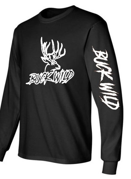 "Buckwild ""Oreo"" long sleeve t-shirt - Dirty Doe & Buck Wild"