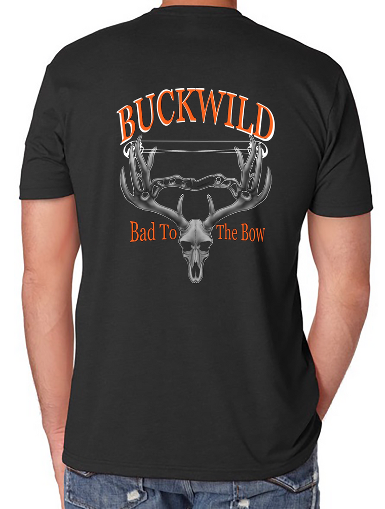 Bad To The Bow Buckwild T-Shirt assorted colors