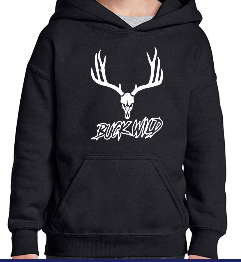 "Buckwild ""Muley Wild""  Hoodie - Dirty Doe & Buck Wild"