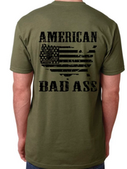 American Badass - Dirty Doe & Buck Wild ,hunting apparel,camo,girls that hunt,huntress, buck wild,deer shirts,buck shirts,country shirt,country girl shirts, amazon,cabelas,bass pro shop,sportmans,