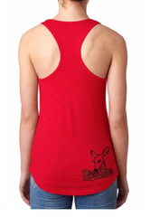 Dirty Doe Racer Back Tank Tops (assorted colors) - Dirty Doe & Buck Wild ,hunting apparel,camo,girls that hunt,huntress, buck wild,deer shirts,buck shirts,country shirt,country girl shirts, amazon,cabelas,bass pro shop,sportmans,
