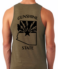 "Buckwild "" Gunshine State"" Tank Top"