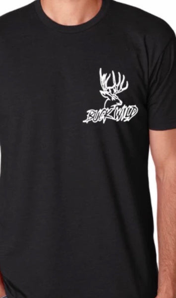 Buck Wild Rubbin One Out T-shirt