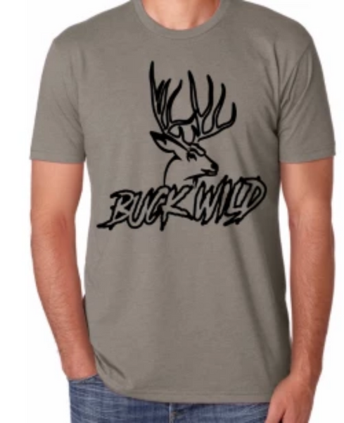 Buck Wild T-Shirts (assorted colors ) - Dirty Doe & Buck Wild ,hunting apparel,camo,girls that hunt,huntress, buck wild,deer shirts,buck shirts,country shirt,country girl shirts, amazon,cabelas,bass pro shop,sportmans,