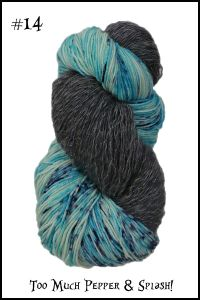 Opposites Attract Shawl Kit from Wonderland Yarn