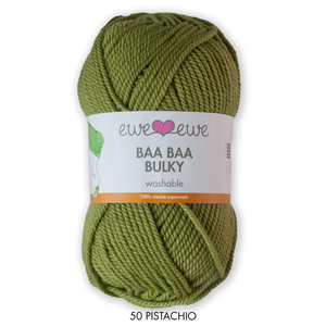 Baa Baa Bulky from Ewe Ewe Yarns