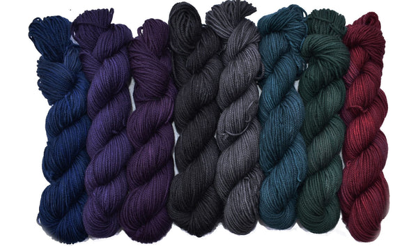 Wonderland - Mad Hatter mini-skein 8-pack