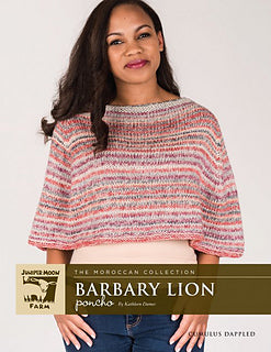 Barbary Lion Poncho by Kathleen Dames