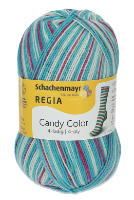 4-Ply Candy Color from Regia