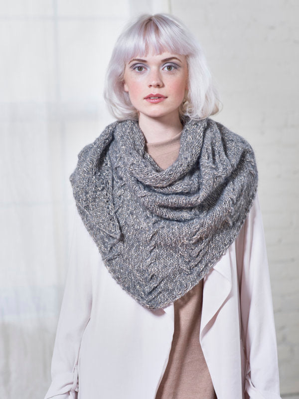 Gardon Shawl in Berroco Brielle