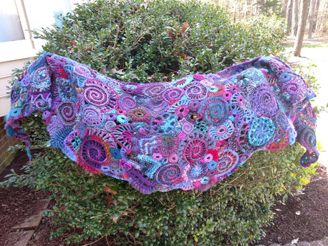 Freeform Crochet for Intermediate Knitters and Crocheters