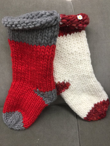 Knit-in-a-Minute Holiday Stocking Retreat