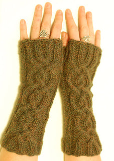 Cables and Fingerless Gloves