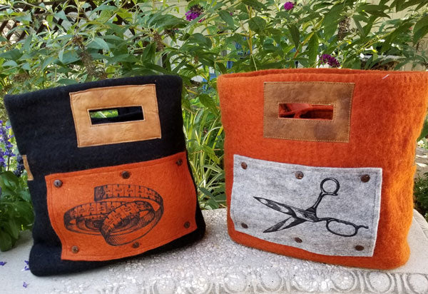 Fibres of Life Project Bag Art Panels