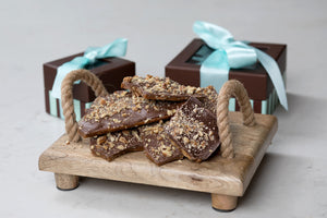 Milk Chocolate Pecan Toffee with Gift Packaging - 4oz.