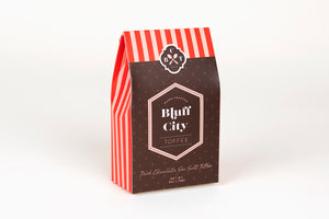Dark Chocolate Pecan Toffee with Sea Salt in Signature Package - 4 oz.