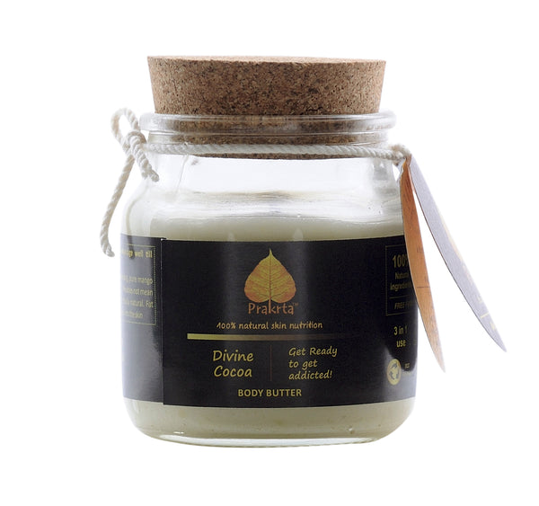 Divine Cocoa - Multipurpose body butter for hands, feet, face, lips, hips, tummy & even baby skin