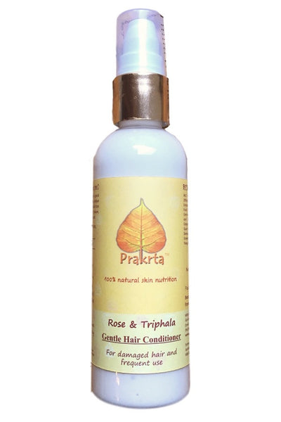 Rose and Triphala, Gentle Hair Conditioner - for damaged hair