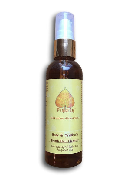 Rose and Triphala, Gentle Hair Cleanser - for damaged hair
