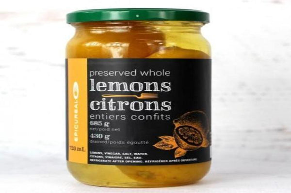 Lemon preserved whole 365g