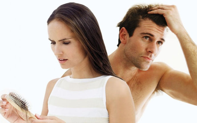Q. What causes hair thinning as we age?