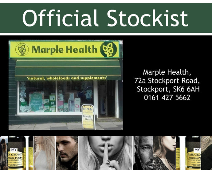 NEWS: New OFFICIAL Stockists of the Revolutionary Hair Growth Supplement in Stockport!