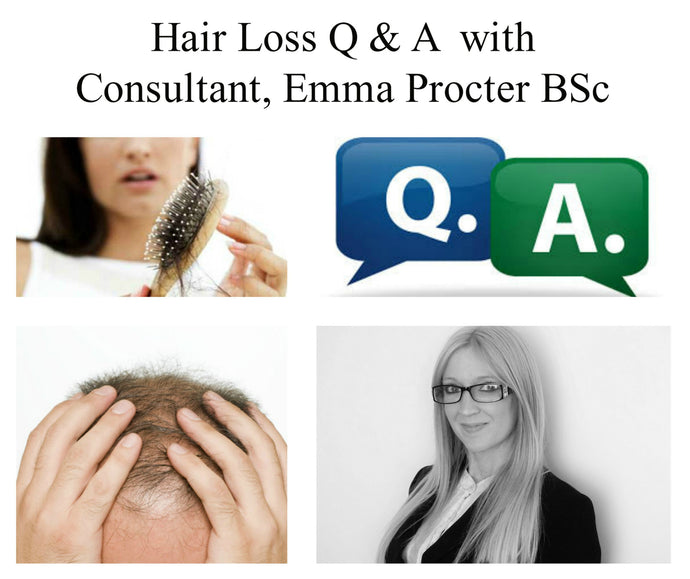 Q. I have thinning hair on the side and front of my head, can My Hair Secret supplement help me?