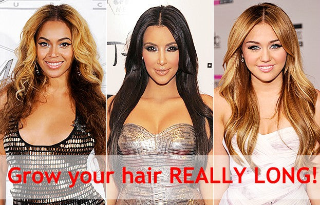 10 Top Tips for Growing your hair Really Long!