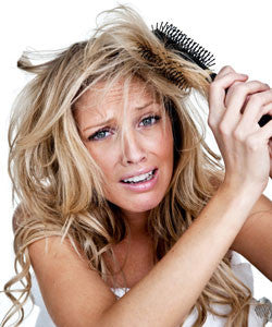 Q. How do you get rid of hair tangles without pulling out more hair?