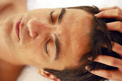 Scalp massage for hair growth. male hair loss. My Hair secret
