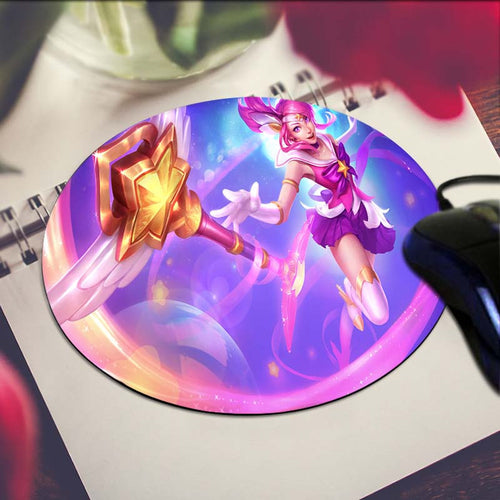 Star Guardian Lux Circular Mouse Pad