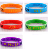 League Of Legends Role Wristband - League of Chains
