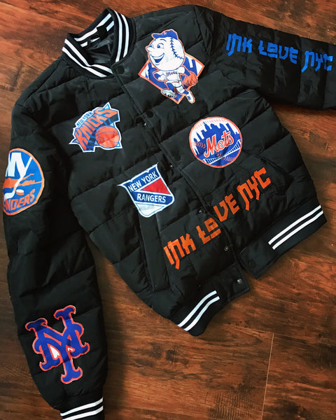 """NY State Of Mind"" PatchWork Jacket"