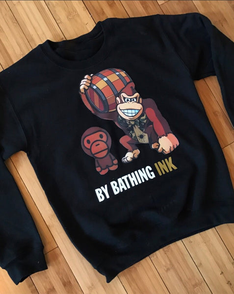 """A Bathing Ink"" Sweatshirt"