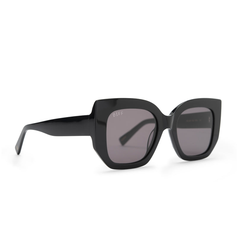 UNCOMMON JAMES x DIFF | RETRO SUNGLASSES | GREY LENSES