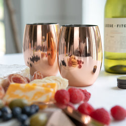 APPELLATION STEMLESS WINE GLASSES (SET OF 2)