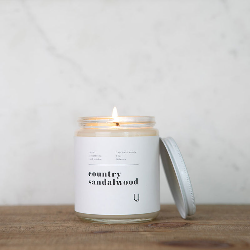 Country Sandalwood Candle