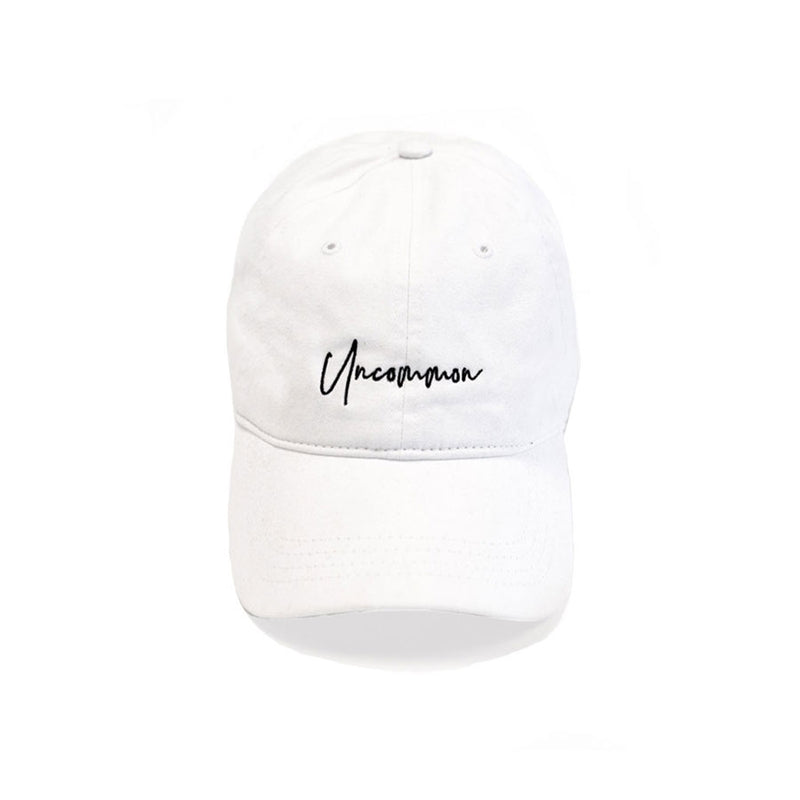 UNCOMMON HAT | WHITE
