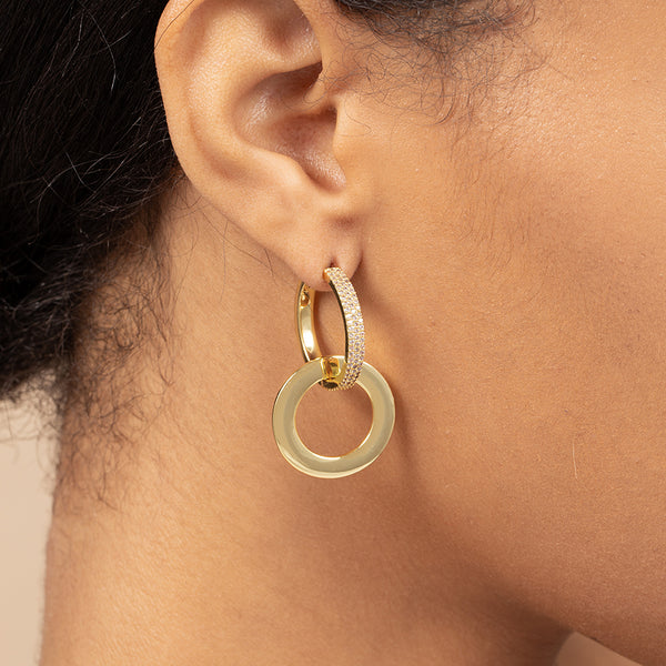HARMONIZE HOOP EARRINGS
