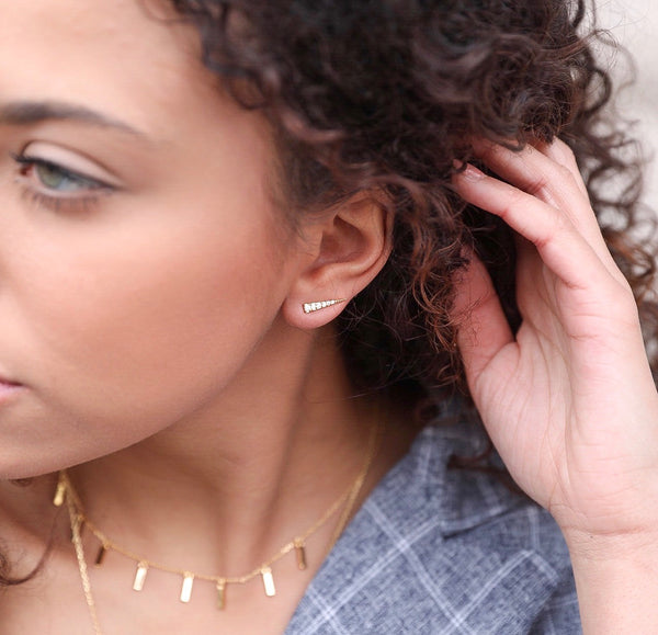 9TH AVE EAR CLIMBER | GOLD