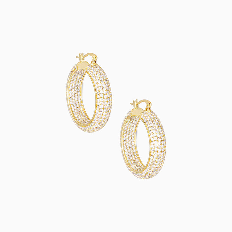 Ritz Hoop Earrings