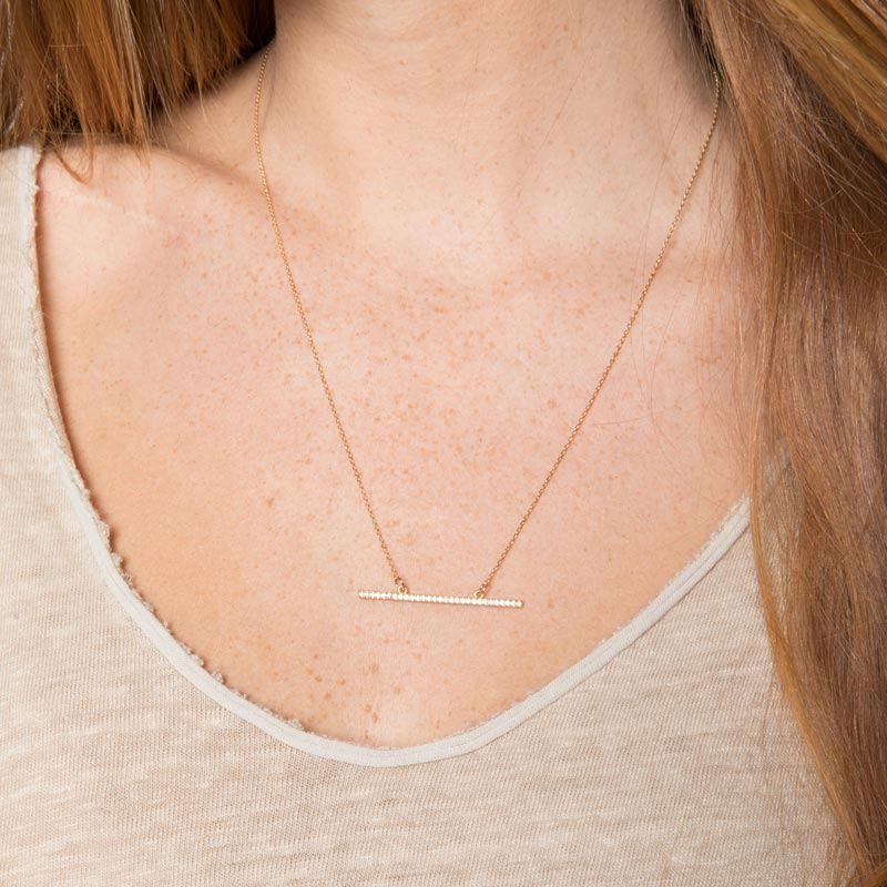 Raise The Bar Higher Necklace