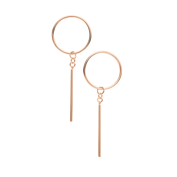 RHAPSODY EARRINGS | ROSE GOLD