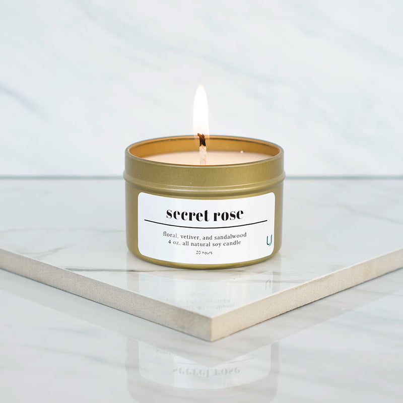 Secret Rose Candle