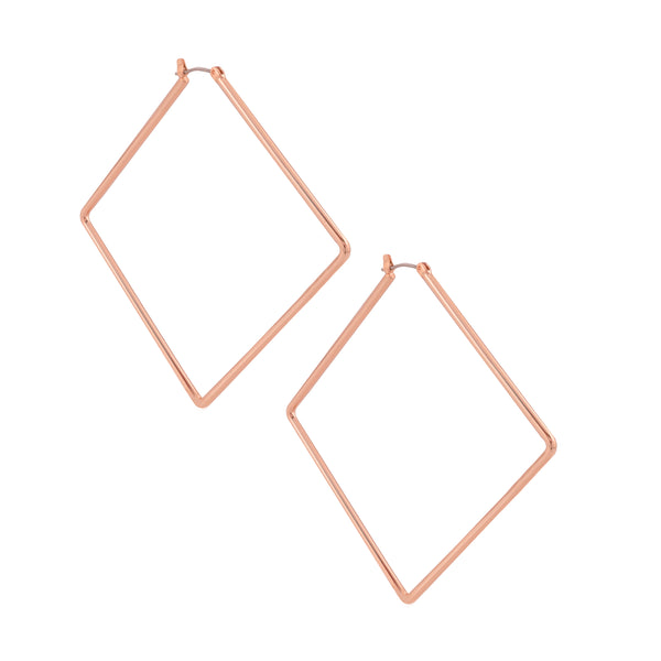 GIRL BOSS EARRINGS | ROSE GOLD