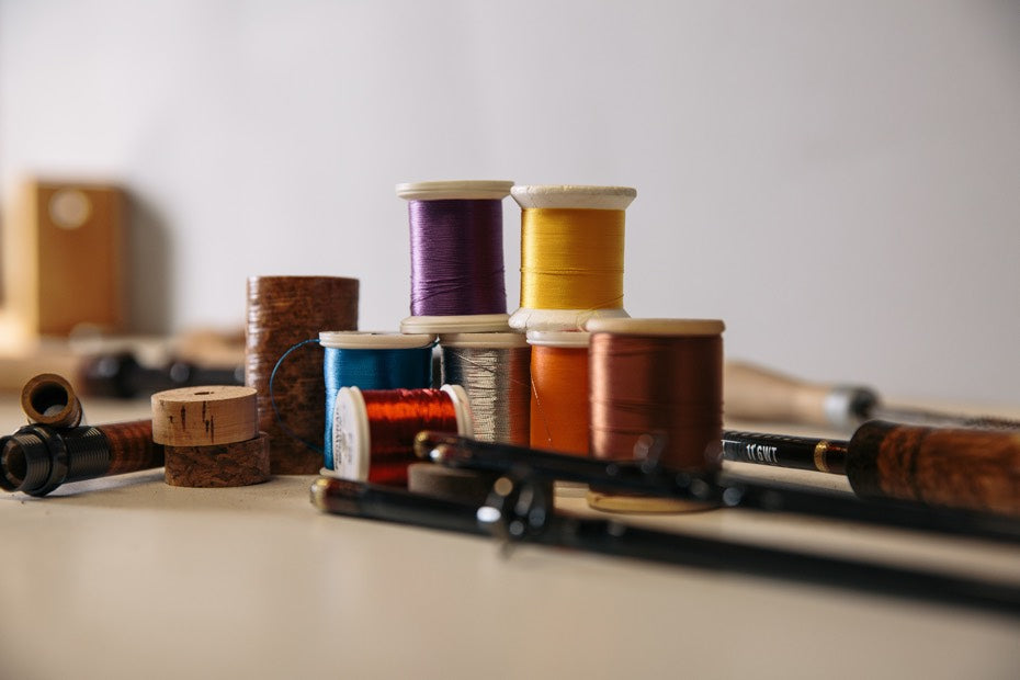 Multiple thread colors