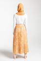 Pleated Skirt - Yellow