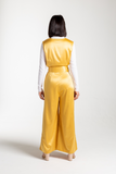 Tuscany Jumpsuit - the satin jumpsuit